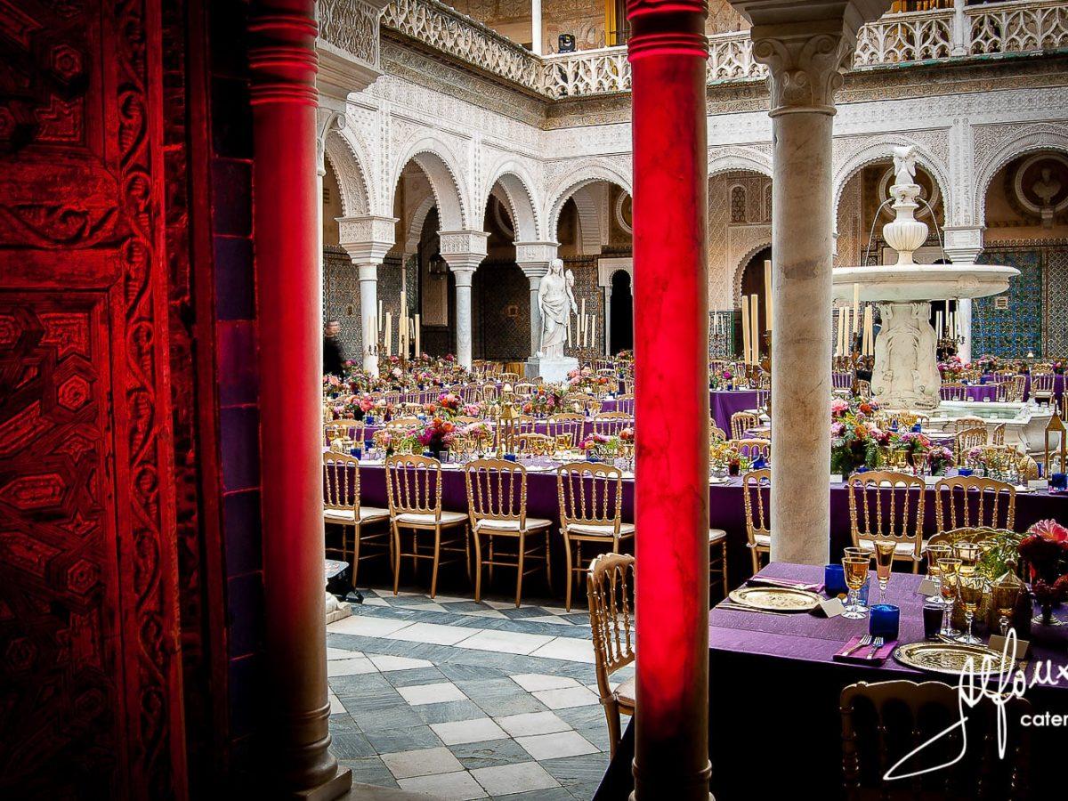 Catering boda Sevilla: Casa Pilatos - Salón interior para tu boda en Sevilla